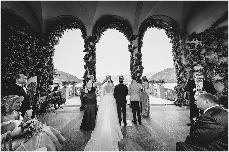 wedding ceremony VILLA DEL BALBIANELLO lake Como