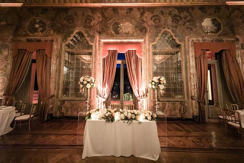 Wedding Reception At Villa Erba Cernobbio Lake Como