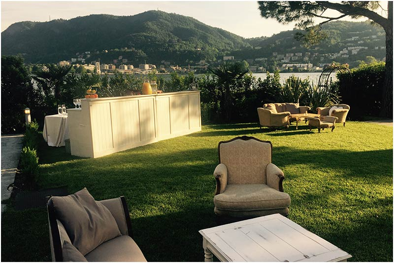 wedding reception VILLA GENO lake Como