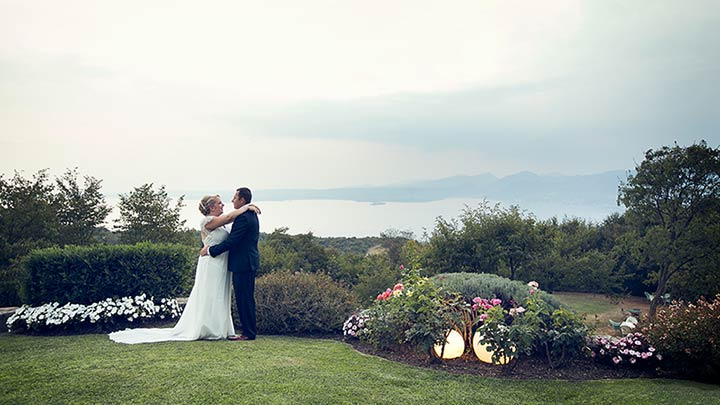 award winning wedding planning Lake Garda