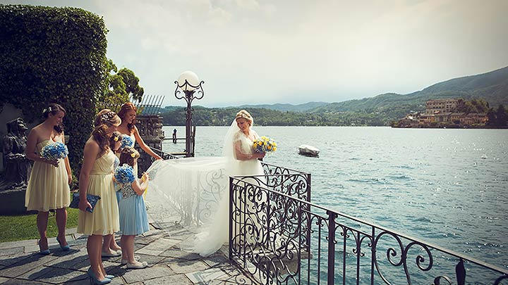 Lake Orta Destination Wedding Specialist of the Year