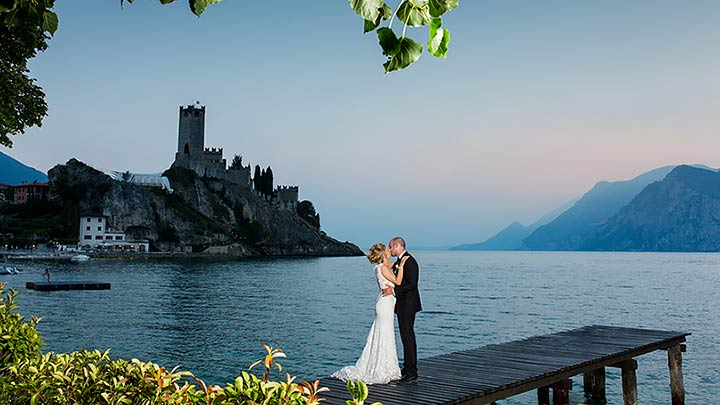 award winning wedding planning Malcesine Lake Garda