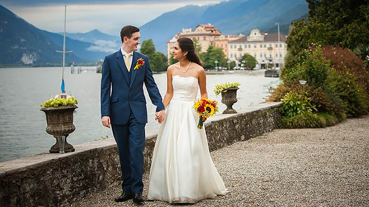 award winning Lake Maggiore wedding planners