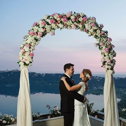 Civil Wedding Ceremonies Lake Albano Rome