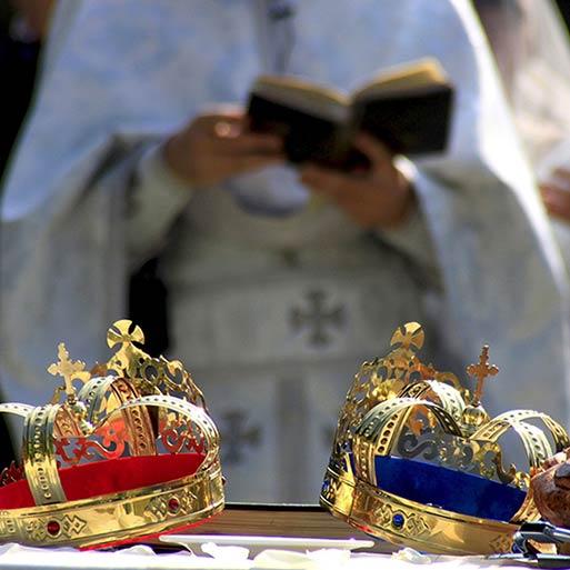 Orthodox Ceremony in Italy